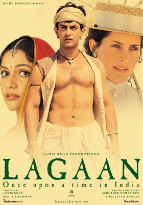 Lagaan: Once Upon a Time in India, 2001. Movie Poster.