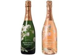 Bouteilles de champagnes brut et rosé