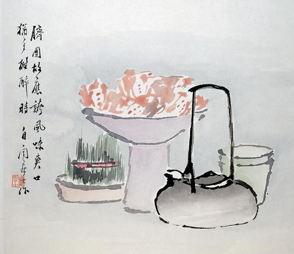 Liu Xiling (1848?1923), Rustic Cuisine, 19th-century.