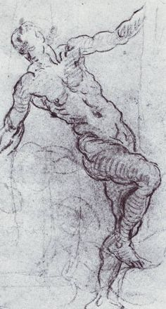 Tintoretto, Figure Drawing.