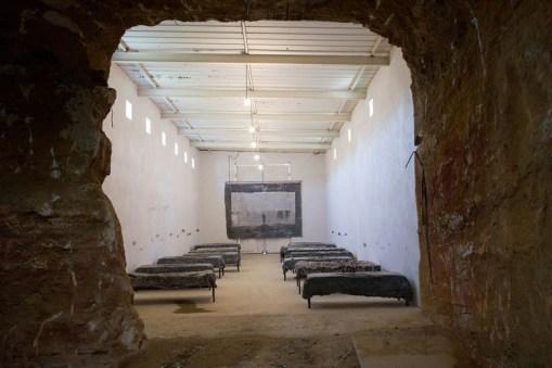 Installation, 'La Ribaute', Barjac (Frankreich)