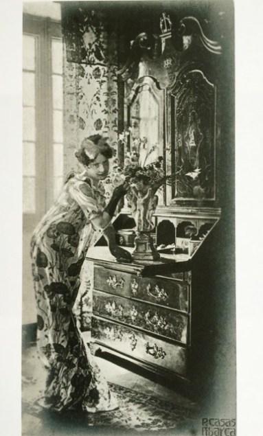 Père Casas Abarca, 1902-1903, Gelatina de plata sobre papel baritado, tiraje 1902-1903, 12,6 x 6,4 cm MTIB