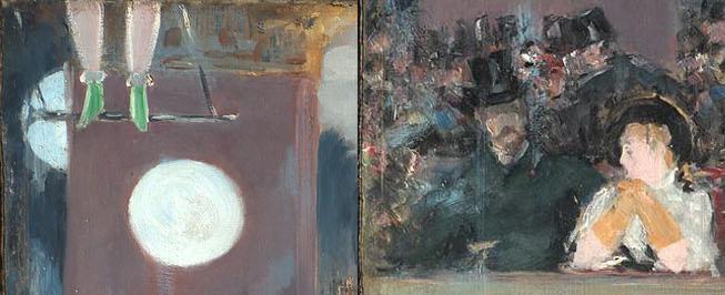 Édouard Manet, Un Bar aux Folies-Bergère (Eine Bar im Folies-Bergère) [Details], 1882. Öl auf Leinwand, 137,3 x 171,6 cm. The Courtauld Gallery, London.