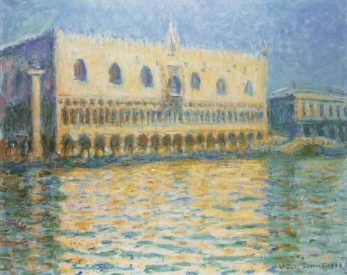 Le Palais ducal, 1908. Huile sur toile, 81,3 × 99,1 cm. Brooklyn Museum, New York.