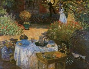 Claude-Monet-The Luncheon