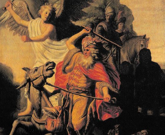 El profeta Balaam y su burra