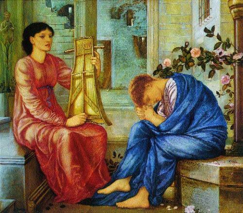 La Lamentation, 1866.