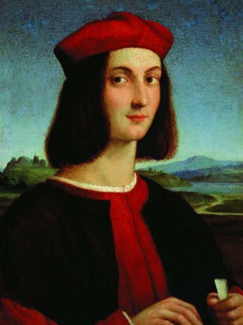 Raffael-Raffaello-Sanzio-Porträt-von-Pietro-Bembo,