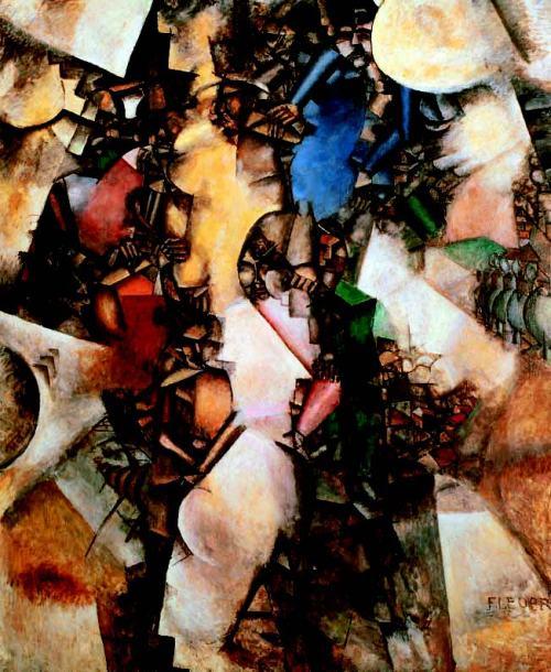 cubism-Fernand-Leger-The-Wedding