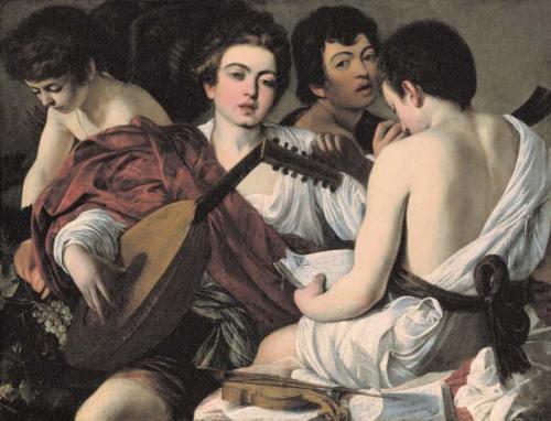 Caravaggio-Les-Musiciens