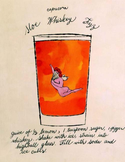 Andy-Warhol-Capricorn-Sloe-Whiskey-Fizz