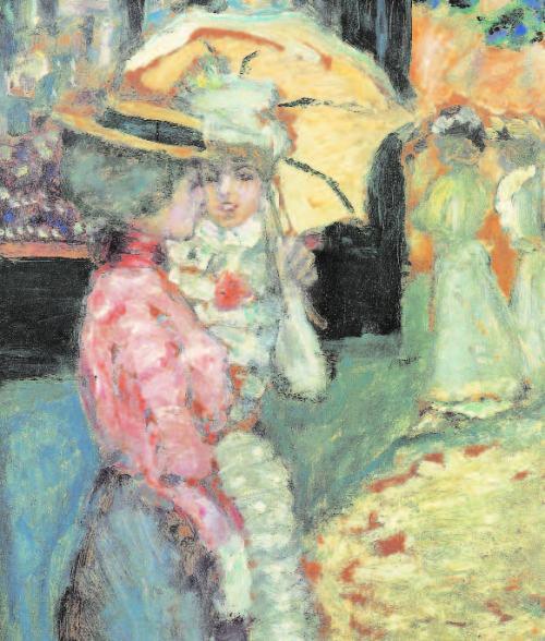 Pierre-Bonnard-Der-Spaziergang