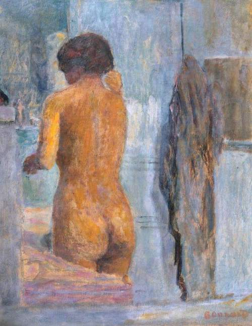 Pierre-Bonnard-bathing-woman-seen-from-the-back-baigneuse-de-dos-