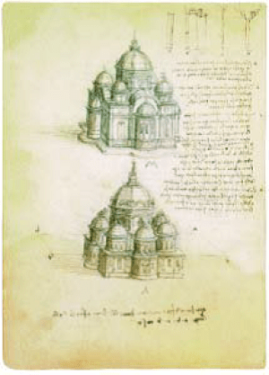 Leonardo-Da-Vinci-Studies-of-Churches-with-Central-Nave-Plans