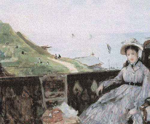 Berthe-Morisot-Sur-la-Terrasse
