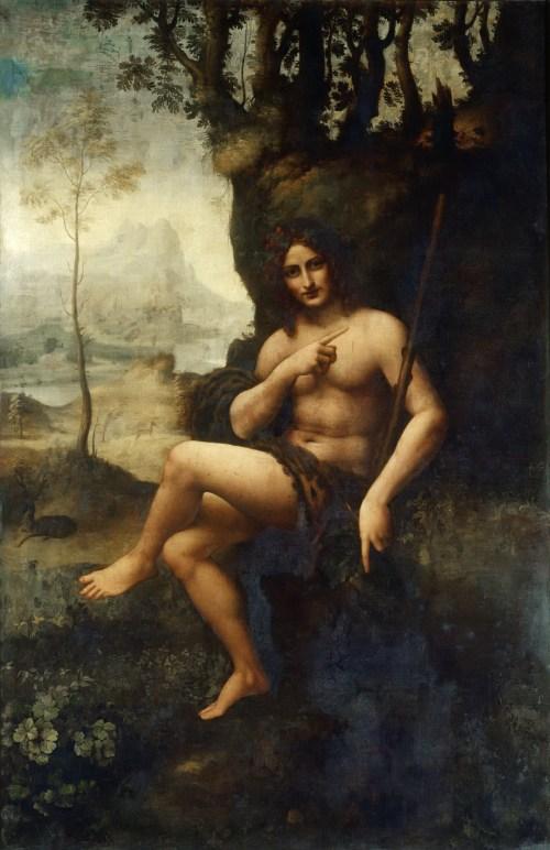 Leonardo-da-Vinci-Saint-John-the-Baptist-Bacchus
