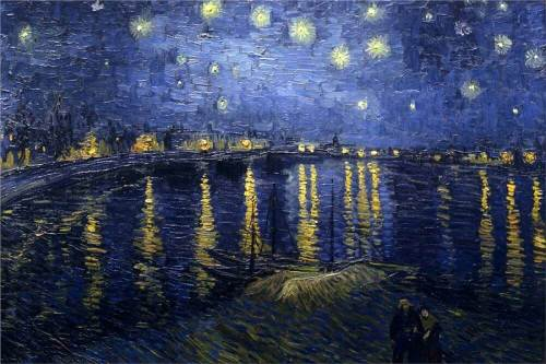 Vincent-Van-Gogh-The-Starry-night-over-the-rhone