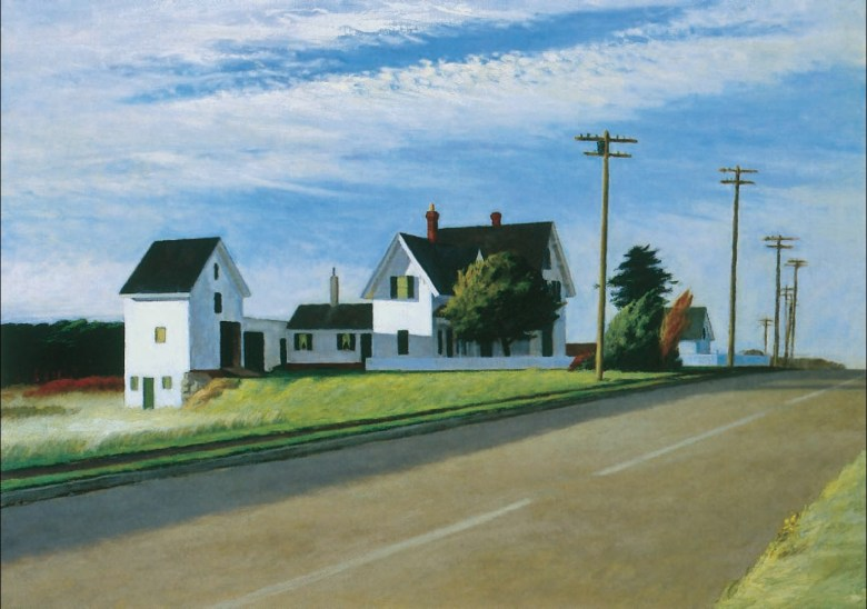 Edward Hopper - Route 6, Eastham
