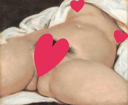 Gustave Courbet - Der Ursprung der Welt - 1866