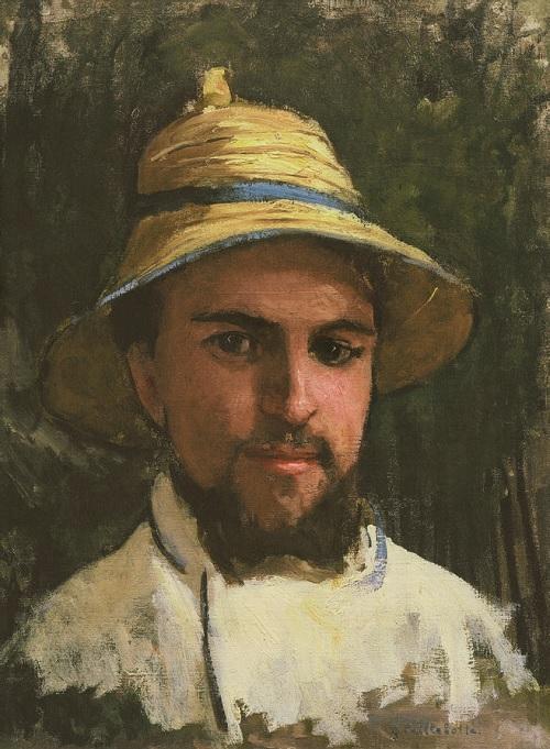 Gustace Caillebotte - Autoportrait