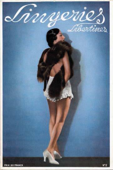 Libertine lingerie, n° 3, Diana Slip, c. 1937, Alexandre Dupouy