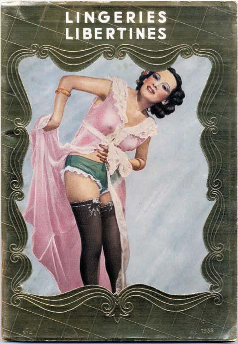 Libertine lingerie, n° 4, Diana Slip, September 1938, Alexandre Dupouy