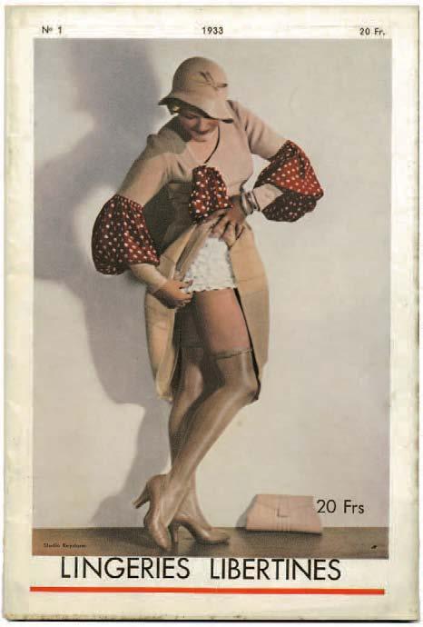 Kokette Dessous, Nr. 1, Diana-Slip, September 1933, Alexandre Dupouy