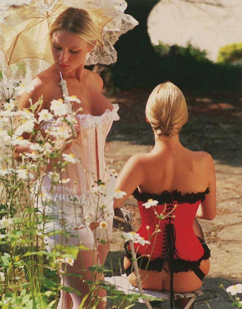 Corset by Axfords, Muriel Barbier and Shazia Boucher
