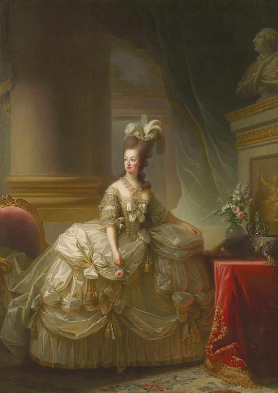 Erzherzogin Marie Antoinette, Königin von Frankreich, 1778., Élisabeth Vigée-Lebrun,Hermann Clemens Kosel