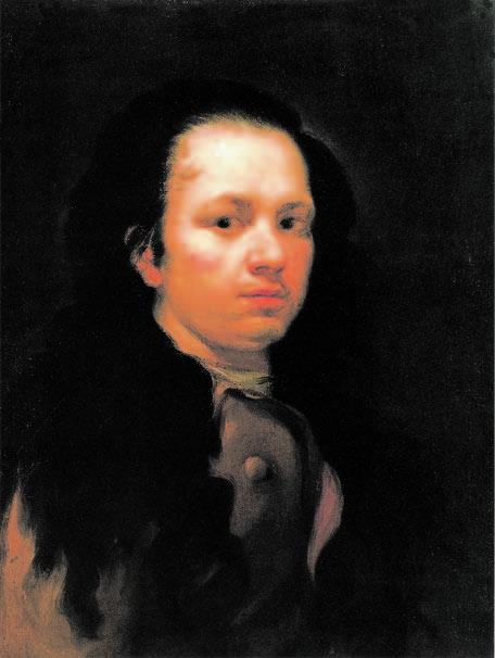Self-portrait, 1773-74, Goya, Victoria Charles