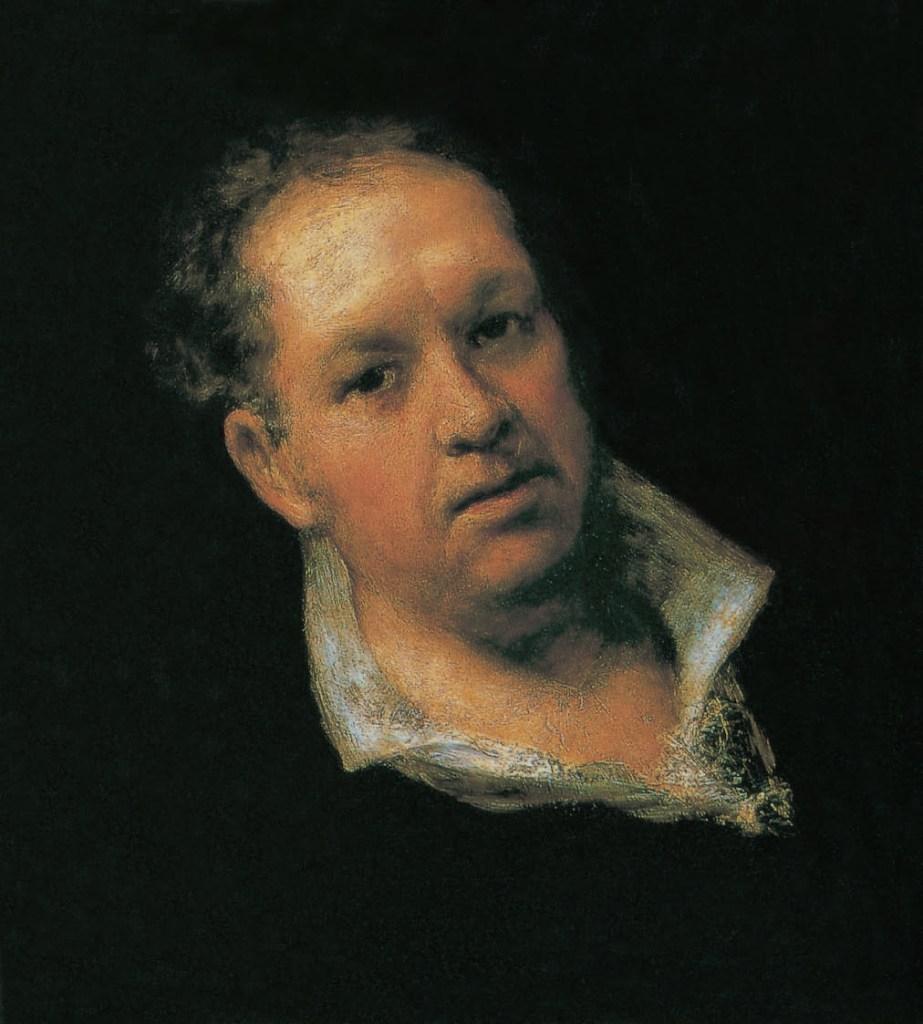 Selbstbildnis, 1815, Goya, Victoria Charles