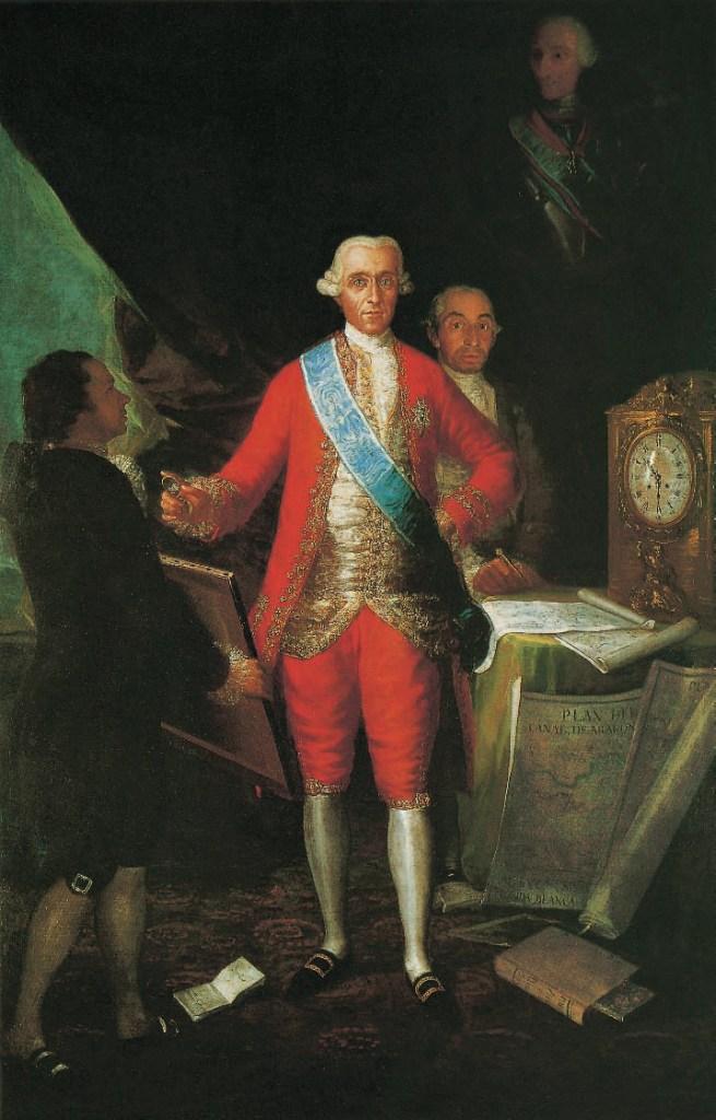 Porträt des Grafen Floridablanca, 1784, Goya, Victoria Charles