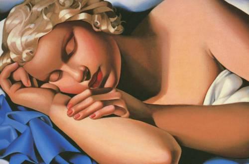 La Dormeuse (Kizette) I, v. 1933., Lempicka, Patrick Bade