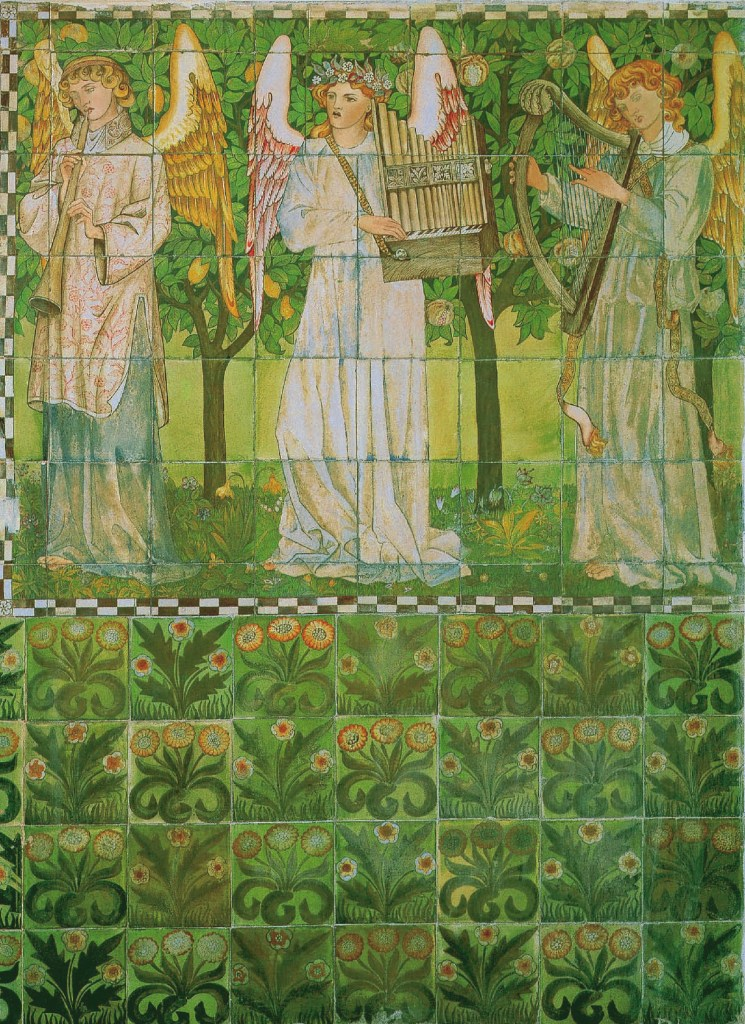 Anges, non daté, William Morris, Arthur Clutton-Brock