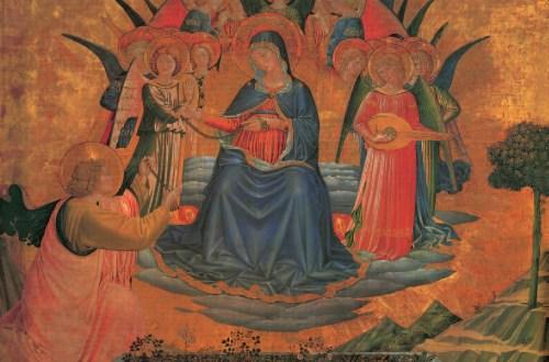 Madonna della Cintola, Benozzo Gozzoli, 1450-1452, Madonnen, Klaus Carl