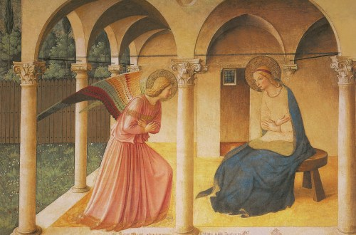 Fra Angelico, The Annunciation, c. 1449, Leonardo Da Vinci - Artist, Painter of the Renaissance, Eugène Müntz