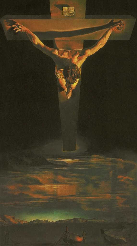Salvador Dalí, Christ of Saint John of the Cross, 1951, Christ in art, Ernest Renan