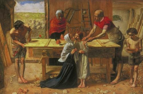 Le Christ dans la maison de ses parents ou L'Atelier du menusier, 1849-1850, Le Christ dans l'art, Ernest Renan