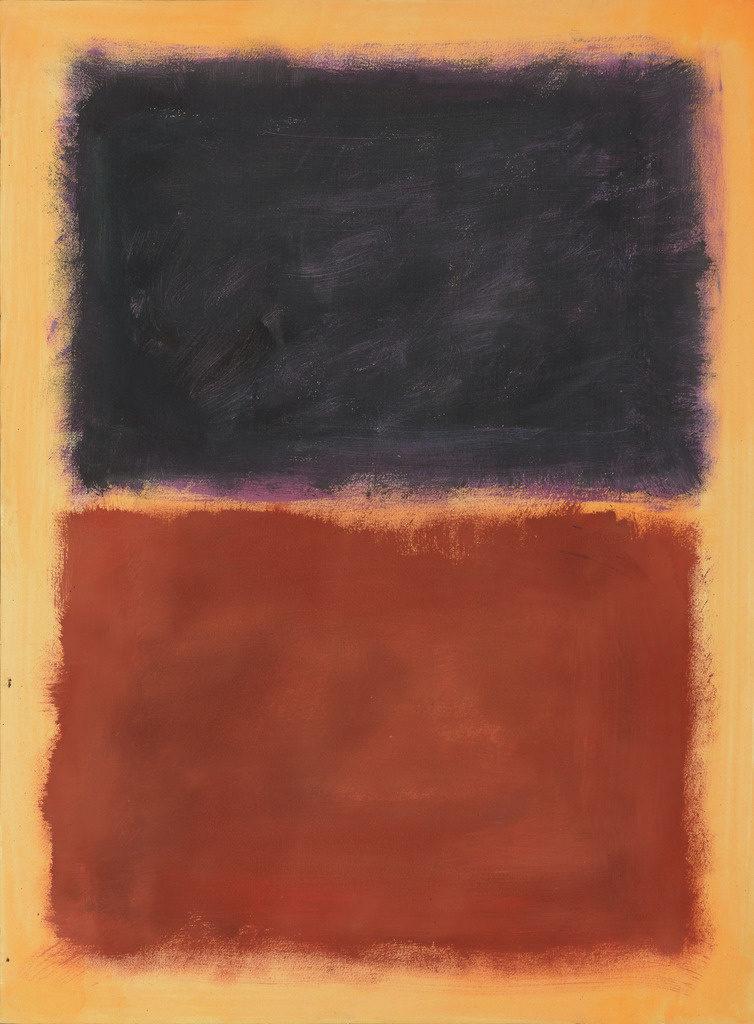 Pei-Shen Qian Gemälde im Stil von Mark Rothko, Fälschungen - Hidden in Plain Sight