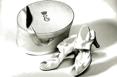 Marriage shoes of Queen Elizabeth II, Shoes, Marie-Josèphe Bossan