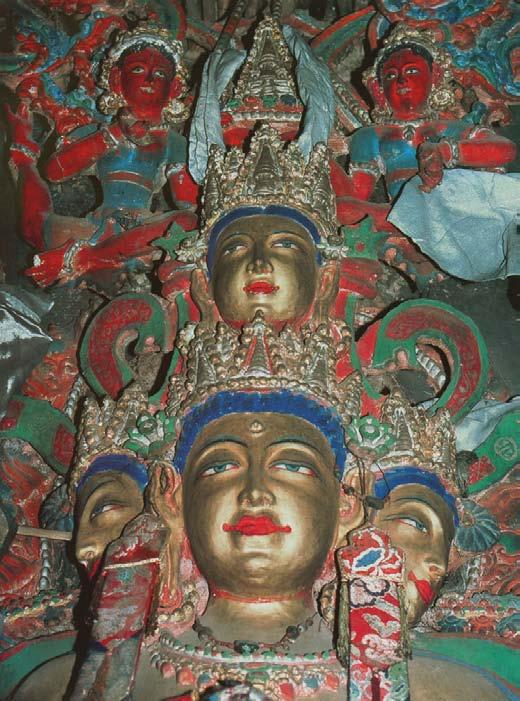 The four heads of Vairocana, 1000 Buddhas of Genius, T.W. Rhys Davids Ph.D. LLD., Victoria Charles