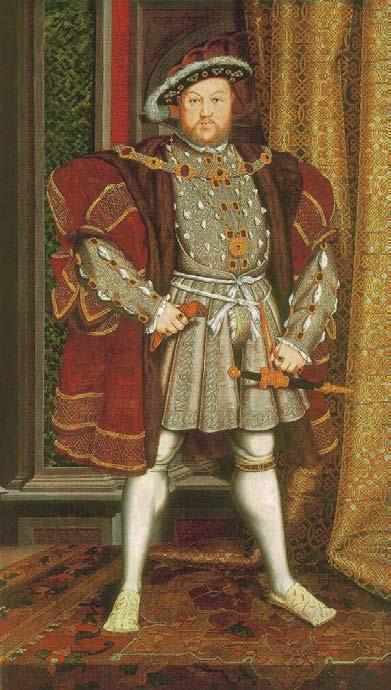 Henry VIII, vers 1540-1545 (?), L'Histoire des Sous-Vêtements Masculins, Shaun Cole