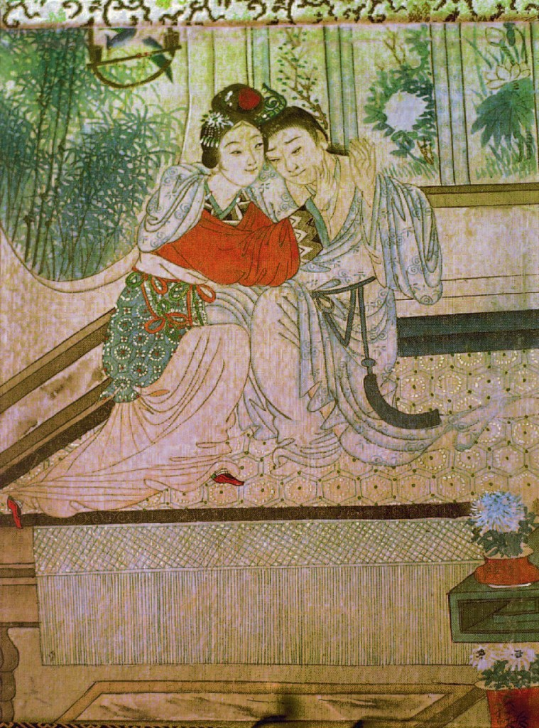 Hochzeitsbuch mit verschiedenen Liebesstellungen, Erotische Fantasien