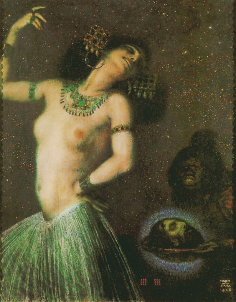 Salome, 1906, Erotische Fantasien