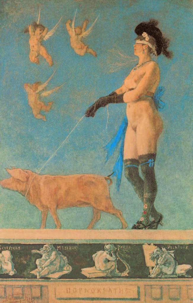 Pornokratès, 1878, Fantaisies Erotiques