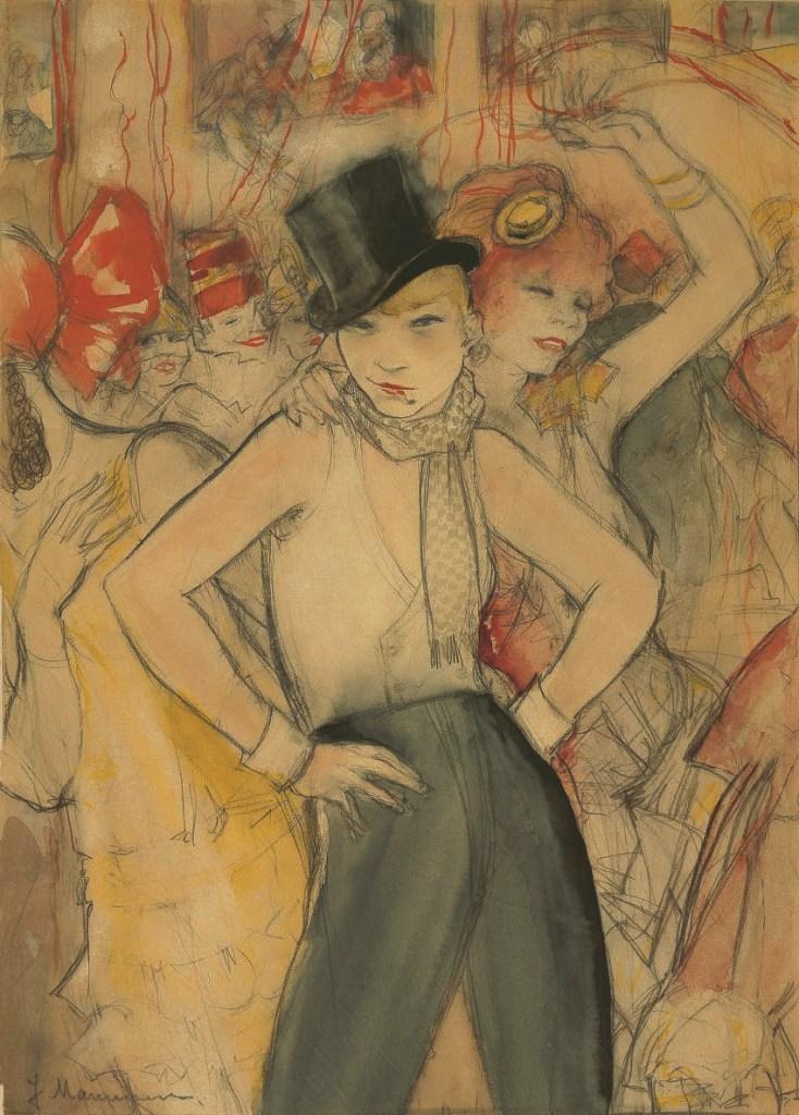Jeanne Mammen, Sie repräsentiert, Homosexualität in der Kunst, James Smalls