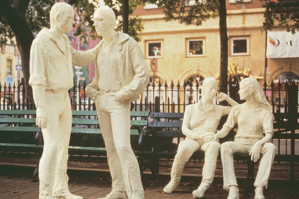 George Segal. Gay Liberation, 1980