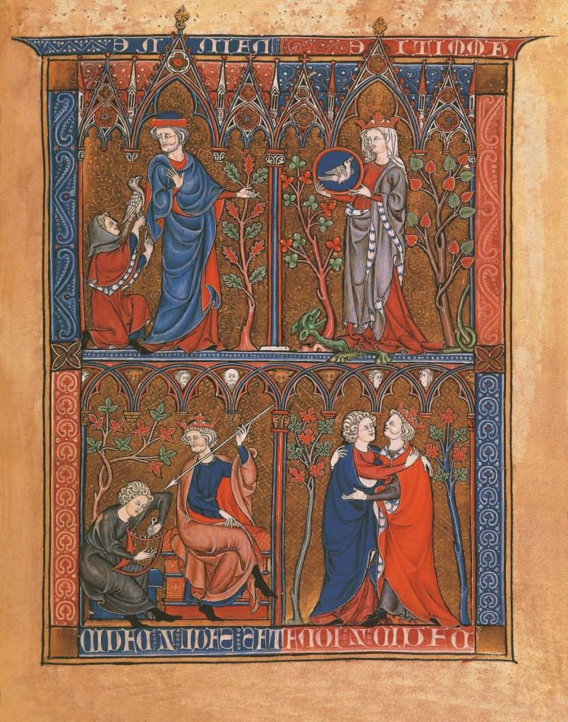 Jonathan, David et Saül, d'après la Somme le roi, L'Homosexualité dans l'Art, James Smalls