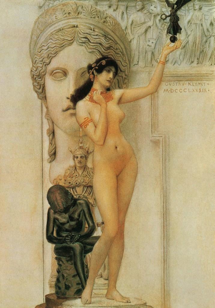 Allegory of Sculpture, 1889, Gustav Klimt, Jane Rogoyska, Patrick Bade
