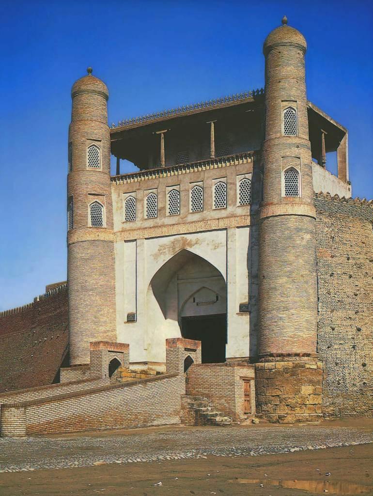 Portail, citadelle d'Ark. Boukhara, Le Livre des Merveilles, Marco Polo